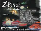 Donz Wheels Of Time Restoration Inc