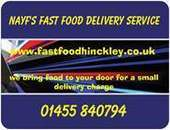 Nayf's fast food delivery service