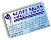 Scott Signs and Lighting Service