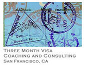 Three Month Visa Coaching and Consulting