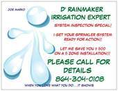 D' Rainmaker irrigation expert