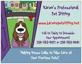 Karen's Professional Pet Sitting