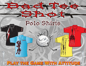 Bad Tee Shot Polo Design