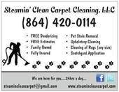 Steamin' Clean Carpet Cleaning, LLC