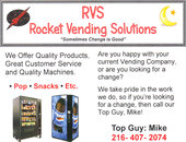 Rocket Vending Solutions