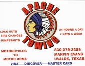 Apache Towing