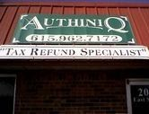 Authentiq Tax Service