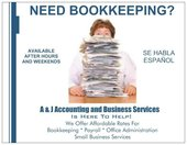 A & J Accounting and Business Services