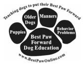 Best Paw Forward Dog Education