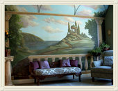 Fiser Art Studio Murals and Oil Portraits