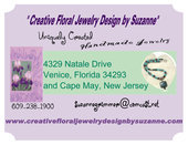 Suzanne Grimmer Creative Floral Jewelry Design