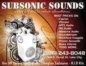 Subsonic Sounds