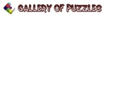 Gallery of Puzzles