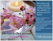 Blessed Occasions Traveling Salon & Spa
