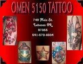 Omen 5150 Tattoo