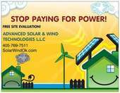 ADVANCED SOLAR & WIND TECHNOLOGIES L.L.C.